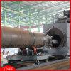 Dustless Blasting Steel Pipe Shot Blasting Machine Fonr Inner and Outer Wall
