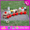 2015 Kids Toys Educational Pull Cart Wooden Block Toy, Wooden Colorful Block Pull Toy, Small Pull Line Block Toys for Sale W05b089