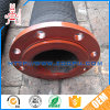 Flanged Head Two Steel Wire Reinforced Rubber Dredge Hose