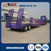 3 Axles 80t Lowbed Cargo Truck Semi Trailer