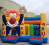 2016 Commercial Inflatable Bouncy Castles with Cartoon, Inflatable Clown Jumping Bouncer for Adult