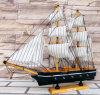 OEM Newest 40 Cm Wooden Ship