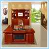 Large Executive Office Arc Shaped Luxury Wooden Boss Table