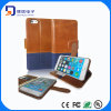 Genuine Leather for iPhone 6 Plus Wallet Case (LC-C003-B)
