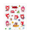 Self Adhesive Craft Paper Sticker Label for Children Toy