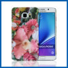 Flower Design PC Case Hard Cover for Galaxy Note 5