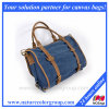 Cotton Canvas Messenger Bag, Canvas Shoulder Handbag Bag for Women