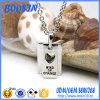 High Quality Custom Engraved Logo Charm Necklace