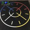 Anti Slip DIY Logo Interlock Gym Rubber Flooring Mat