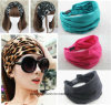 New Variety of Wear Method Cotton Elastic Sports Headband