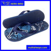 Colorful Printing Durable PE Male Footwear Slipper
