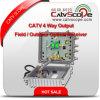 CATV 4 Way Output Field / Outdoor Optical Receiver