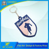Cheap Customized PVC Rubber Keyring for Souvenir/Promotion with Any Logo (XF-KC-P46)