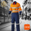 OEM Bright Colored Mechanic Overalls with Hi Vis Reflective Tape