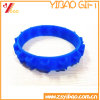 3D Logo Embossed Custom Personality Silicone Wrisband Bracelet (YB-HR-99)