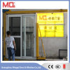 Standard Size Profile Aluminum Glass Door Design