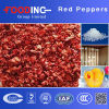 High Quality Dried Processed Dehydrated Red Pepper Particles Granules Bell Manufacturer