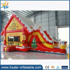 Customized Inflatable Bouncer, Inflatable Bouncy House with Slide