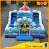New Design Ocean Theme Inflatable Aquarium Fun City Slide (AQ01745)