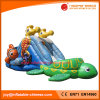 2017 High Quality 0.55mm PVC Tarapulin Inflatable Turtle Slide (T4-699)