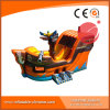 Pirate Ship Inflatable Boat for Amusement Park with Slide (T6-607)