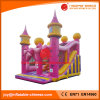 Pink Inflatable Wedding Princess Bouncy Jumping Castle (T2-510)
