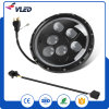 "Motorcycle Accessories, for Jeep Wrangler and Truck 7"" 60W CREE LED Round High Low Beam Headlight"