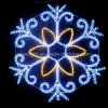 LED Decoration Snowflake Christmas Holiday Light