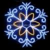 LED Decoration Snowflake Christmas Holiday Light