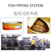 Automatic Fish Fryer Procesiing Line with Capacity at 400kgs/Hr