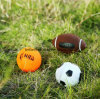 Toys Set of 3 Sports Balls for Kids - Soccer Ball, Basketball, Football, Tennis Ball