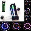 30 Patterns 14 PCS LED Spoke Wheel Light