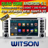 Witson Android 5.1 Car DVD for Hyundai New Santafe (W2-F9778Y)