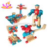 Wholesale DIY Baby Educational Wooden Assemble Toys for Children W03b074