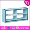 Wholesale Cheap Children Furniture Shelf Wood Hollow Cabinets W08c191