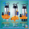 Submersible Sewage V Series Pumps with Cutting Blade, with Float Switch (CE approved)