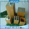 Hot Selling Bamboo and Stainless Bamboo/Wood Bath Set