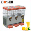 36L 3 Tanks Beverage Juice Dispenser for CE Standard