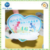 Custom Paper Self-Adhesive Die Cut Sticker with Love Shape (JP-s009)