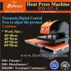 St-E 2 Work Stations Pneumatic Digital T-Shirt Clothes Hot Heat Transfer Press Printer