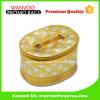 Custom PU Barrel Gold Glitter Cosmetic Bag Private Label