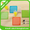 Householder Eco-Friendly Cutomized Soft PVC Rubber Table Coaster for Cup