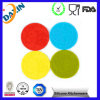 Cup Mats Round Silicone Rubber Placemat Round Heat-Resistant Mat