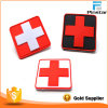 Red Cross PVC Rubber Magic Tape Rubber Badge