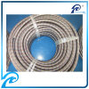 304 Stainless Steel Outer Braided Rubber Hose with Red and Blue Line