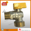 Brass Angle Ball Valve for Gas (YD)