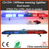 63 Inch LED Warning Lightbar Built-in Speaker for Ambulance, Trucks Chain Manufactures