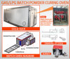 Gas /LPG /Diesel Batch Powder Curing Oven