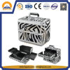 Durable Aluminum Carrying Makeup Cosmetic Case (HB-3166)