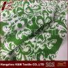 Flower Spandex Cotton Silk Blend Fabric 94%Cotton 6% Spandex Silk Cotton Fabric
